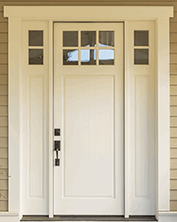 Wooden Double Glazed Front Door
